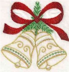 Winter Bells embroidery design