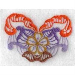 Fantasy Flower embroidery design