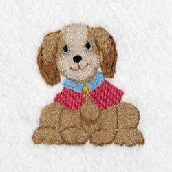 Little Puppy embroidery design