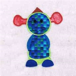 Applique Monsters embroidery design