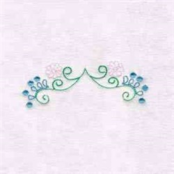 Floral Decor embroidery design