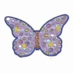 Fluttering Butterflies embroidery design