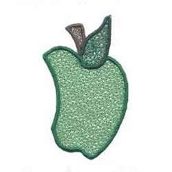 FSL Green Apple embroidery design