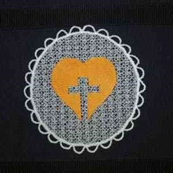 FSL Religious Sun Catcher embroidery design