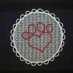 FSL Pet Sun Catcher embroidery design