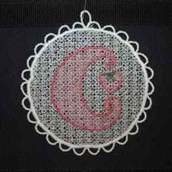 FSL CD Sun Catcher embroidery design