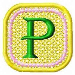 FSL Spring Banner P embroidery design