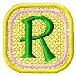 FSL Spring Banner R embroidery design