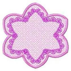 FSL Spring Banner Flower embroidery design