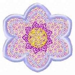 FSL Spring Banner Floral embroidery design