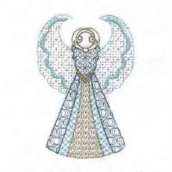 Pretty Angel embroidery design