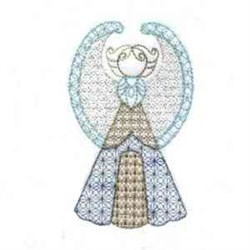 Gold Angels embroidery design