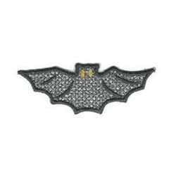 Halloween Ghost Greeter Bat embroidery design