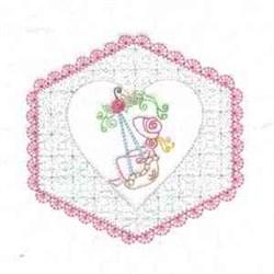 Sunbonnet Quilt Blocks embroidery design