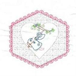 Sunbonnet Quilt embroidery design