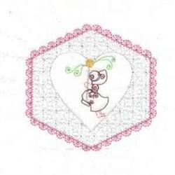 Sunbonnet Girl Blocks embroidery design