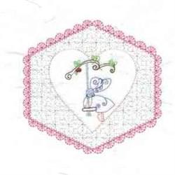 Quilt Sunbonnet  Girl embroidery design