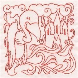 Halloween Quilt Block embroidery design