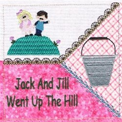 Jack and Jill Quilt embroidery design