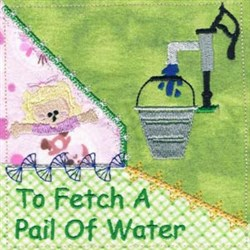 Jack and Jill Block embroidery design
