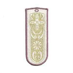 Lace Cross Bookmarks embroidery design