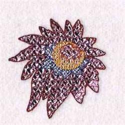 Mylar Plant embroidery design