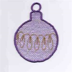 Xmas Ornaments embroidery design