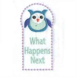 What Happens Next embroidery design