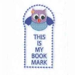 My Book Mark embroidery design