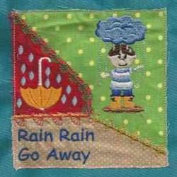 Rain Rain Quilt embroidery design
