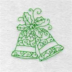 RW Holiday Bells embroidery design