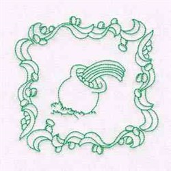 St Patrick Quilt embroidery design