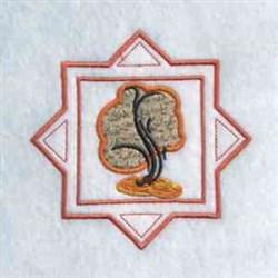 Fall Season  Tree embroidery design