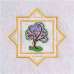 Summer Tree embroidery design