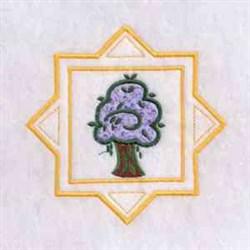Summer Season Tree embroidery design