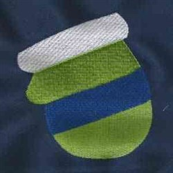 Little Mitten embroidery design