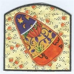Applique Candy Bag embroidery design
