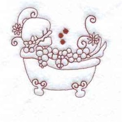 RW Bubble Bath embroidery design