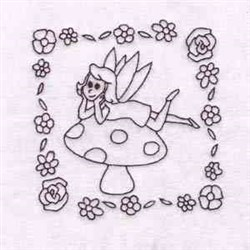 Fairy Quilt embroidery design