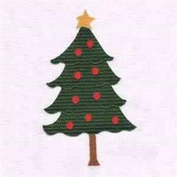 Little Jack Horner tree embroidery design