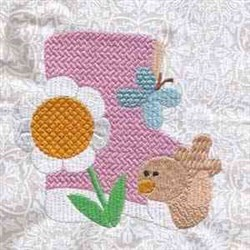 Pretty Floral embroidery design