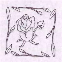 Rose Quilt Blocks embroidery design