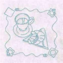 RW Tea Time embroidery design