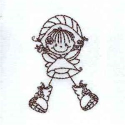RW Fairies embroidery design