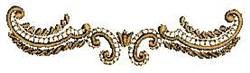 Swirl Border embroidery design