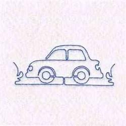 Car Border embroidery design