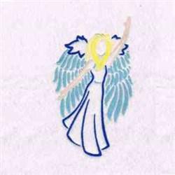 Angel Fantasy embroidery design