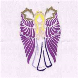 Fantasy Wings Angel embroidery design