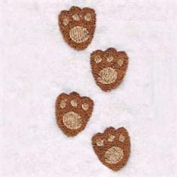 Bear Prints embroidery design