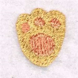 Cat Paw embroidery design